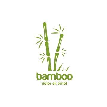 bamboo logo vector icon download template