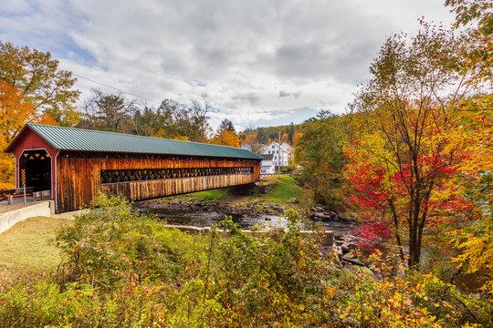 Ware-Hardwick covered bridge, MA