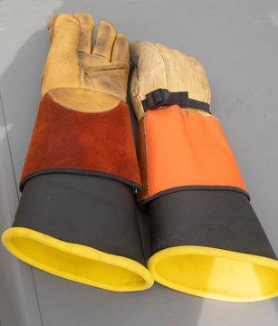 Electric Lineman Work Gloves