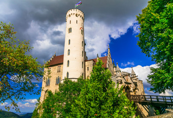 Beautiful casles of Germany- impressive Lichtenstein .