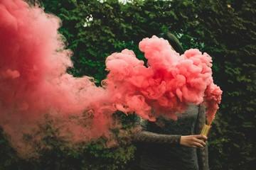 Obraz Smoke bomb - fototapety do salonu