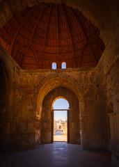 Interior of the Monumental Gateway of the Umayyad Palace at the Amman Citadel, Amman, Jordan