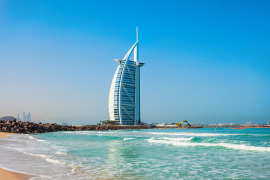 Burj Al Arab luxury hotel, Dubai