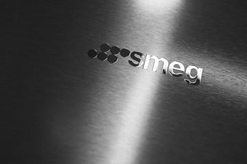 Smeg Group logotype on polished steel