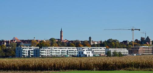 Neuer Stadtteil am Stadtrand, Friedberg