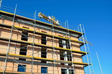 Baustelle für Neue Wohnungen, Friedberg