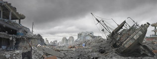 Disaster Landscape Fotomurales