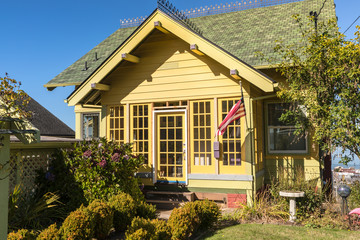 Residential home in Astoria Oregon.