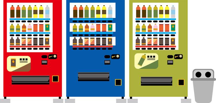 自動販売機 イラスト