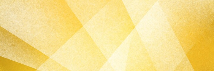 Wall Mural - Abstract modern background in yellow colors and contemporary triangle square and block shapes layered in random geometric art pattern with fine texture