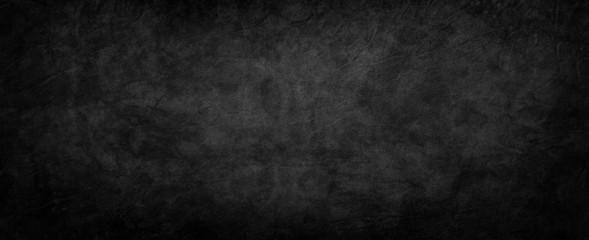 Elegant black background texture with old vintage grunge, distressed blue wrinkled paper with marbled design