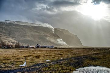 Wall Mural - Iceland Vik Dyrhólaey Reynisfjara