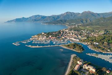 Papiers peints Bleu vert Saint Florent - Corse