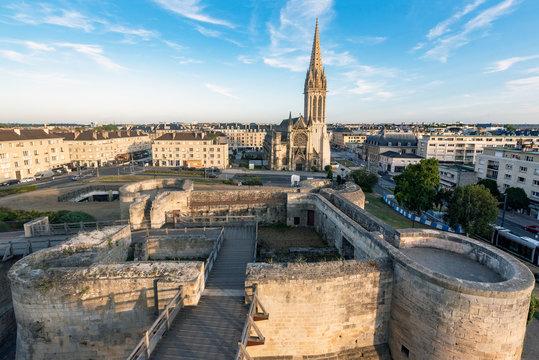Caen, Castle and church