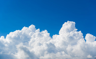 Fototapete - beautiful sky clouds nature background.