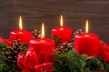 advent wreath for christmas