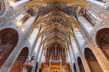 Ceiling of the Cathedral of Albi, France