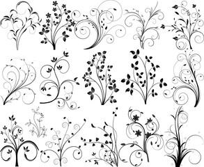 Abstract vector pattern design illustration