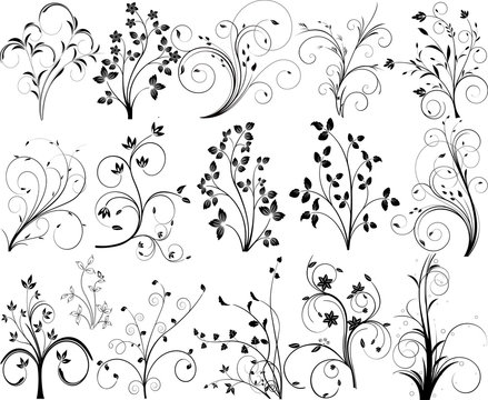 Abstract vector pattern design illustration