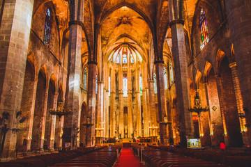 バルセロナの教会