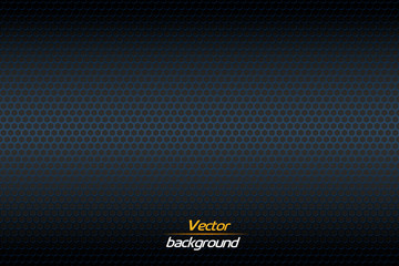 Carbon fiber texture. Vector background.