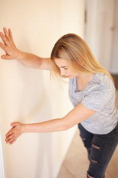 Menieres Disease, Vertigo, Holding Wall, Loss of Balance