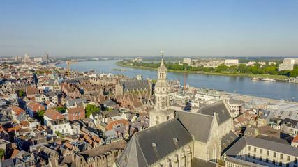 Antwerp, Belgium. St. Paul s Cathedral (Sint-Pauluskerk), Aerial View