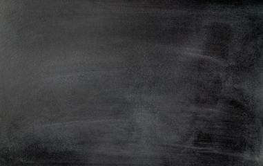Blackboard background. Dirty and old chalkboard texture.