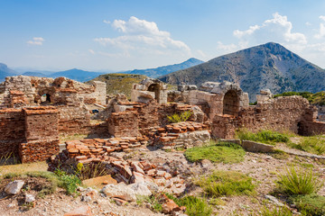 Ancient city of Sagalassos in Anatolia, Burdur, Turkey
