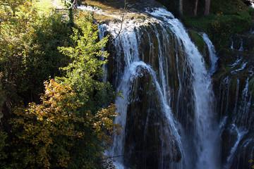 Wall Mural - Scenic waterfall cascades