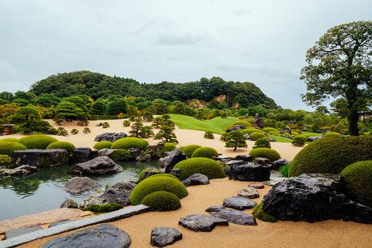 日本庭園 (足立美術館)