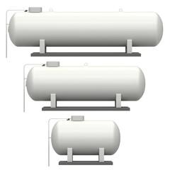 Flüssiggastanks - Groß, Mittel und Klein
