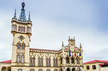 View on old town Hall of Sintra, Portugal