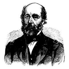 Captain Charles Stewart Boggs vintage illustration