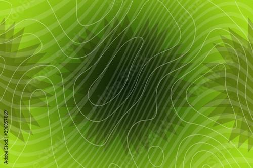 Abstract Light Green Blue Design Wallpaper