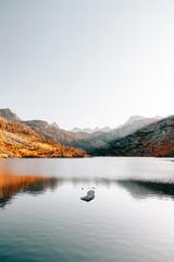Serene Lake Sunset