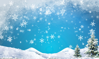 snowflake abstract background high resolution