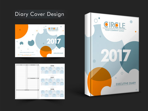 Diary Cover design for 2017 year.