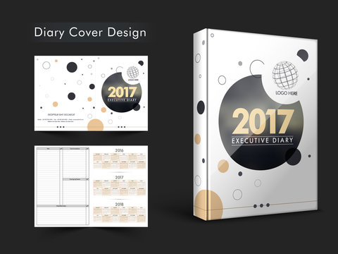 Diary Cover design for New Year 2017.