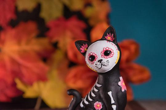 Catrina Cat skull - Day of the dead celebration