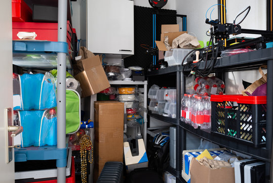 Cluttered Storage Room