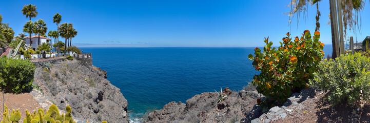Landschaft im Süden der Insel La Gomera