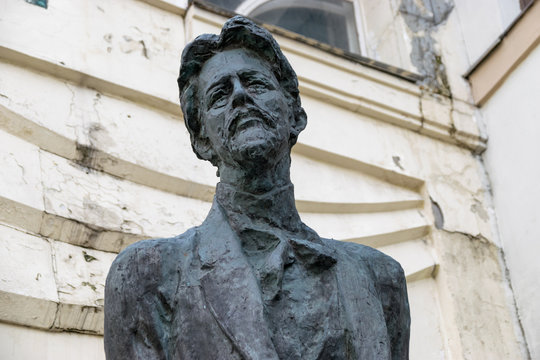 Monument to Anton Chekhov in Moscow