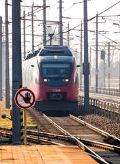 06.09.2018, ÖBB Lokomotive mit Personenzug