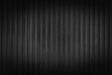 Old black wood wall texture and background. plank black wood wall.