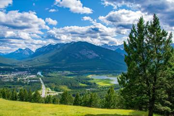 Blick auf Banff, Alberta Kanada