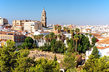 Kathedrale in  Malaga Andalusien
