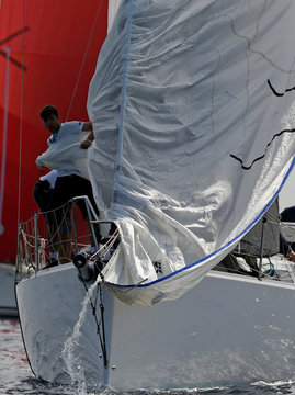 Rolex Middle Sea Race, a 606 nautical mile offshore classic race from Malta, round Sicily and Lampedusa and back, off Valletta's Grand Harbour