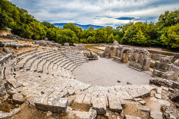Theatre In Butrint National Park - Vlora, Albania
