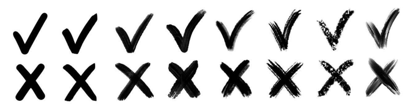 Check mark vector.Check mark icon.Check mark sign.Checkmark symbol.